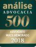 Análise Advocacia 500 2018